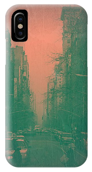 Street Sign iPhone Case - 5th Avenue by Naxart Studio