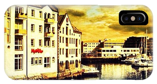 Beautiful Landscape iPhone Case - Alesund - Norway by Luisa Azzolini