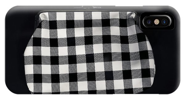 Swanky iPhone Case - Black And White by Joana Kruse