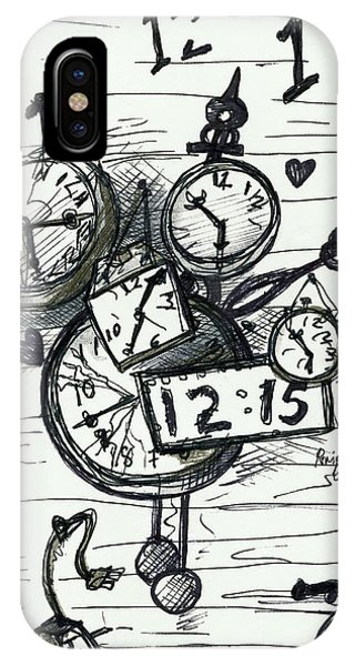 Broken Clocks IPhone Case