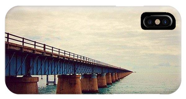 Travel iPhone Case - 7 Miles Bridge, Fl by Joel Lopez