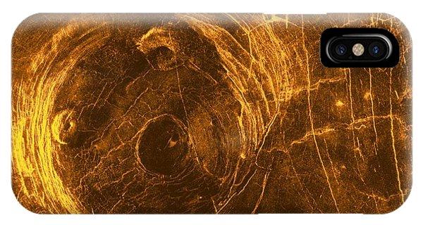 Venus, Synthetic Aperture Radar Map Phone Case by Detlev Van Ravenswaay
