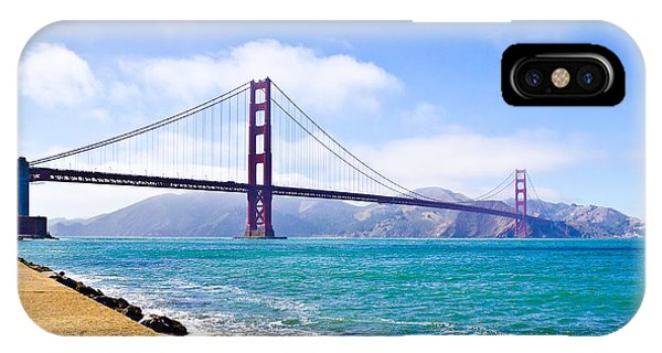 75 Years - Golden Gate - San Francisco IPhone Case