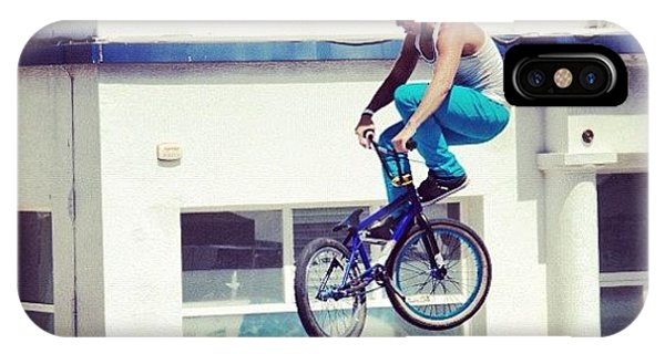 Workout iPhone Case - Bmx O Marisquiño #bmx #marisquiño by Hugo Sa Ferreira