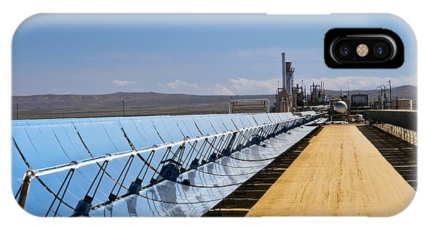 Solar Power Plant, California, Usa Phone Case by David Nunuk