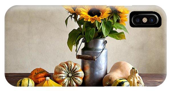 Pumpkin iPhone Case - Autumn by Nailia Schwarz