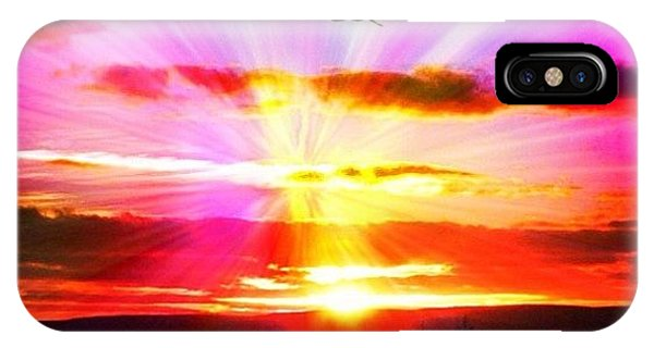 Travel iPhone Case - Sunset by Luisa Azzolini