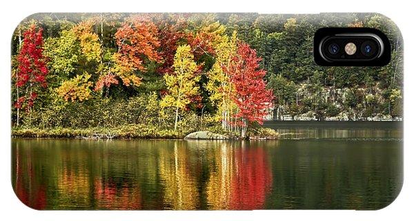 Fall Foliage iPhone Case - A Breath Of Autumn by Evelina Kremsdorf