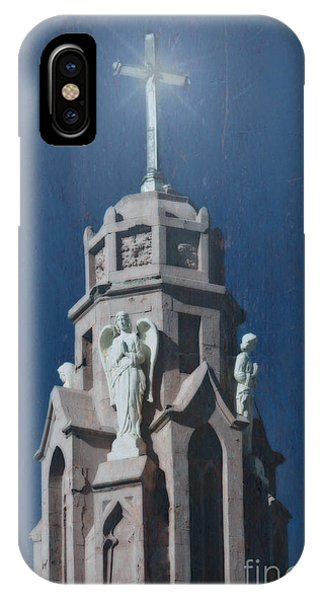 A Church Tower IPhone Case
