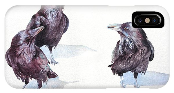 A Conspiracy Of Ravens IPhone Case