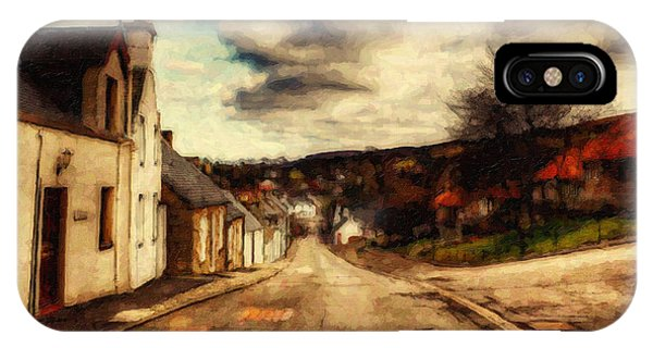 English Village iPhone Case - A Cotswold Village by Lianne Schneider