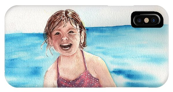 A Day At The Beach Makes Everyone Smile IPhone Case