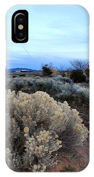 A Desert View After Sunset IPhone Case