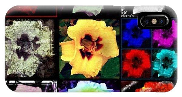 Edit iPhone Case - A Dozen Blooms by Mari Posa