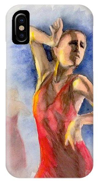 A Flamenco Dancer  2 IPhone Case