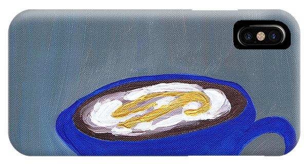 A Little Blue IPhone Case