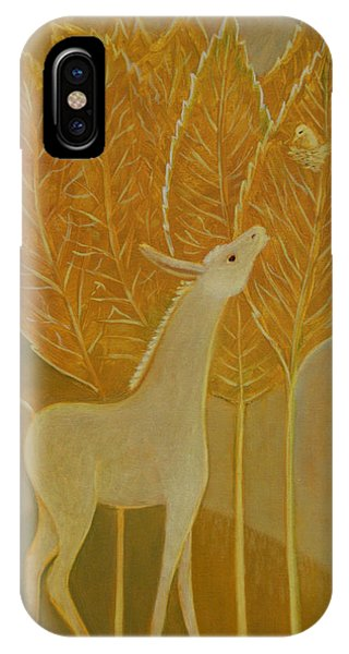 A Little Golden Song IPhone Case