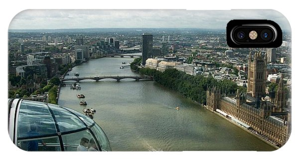A London Eye's View IPhone Case