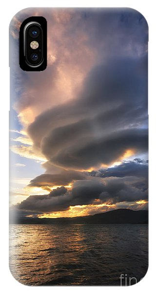 A Massive Stacked Lenticular Cloud IPhone Case