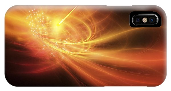 Light Speed iPhone Case - A Supernova Explosion Causes A Bright by Corey Ford