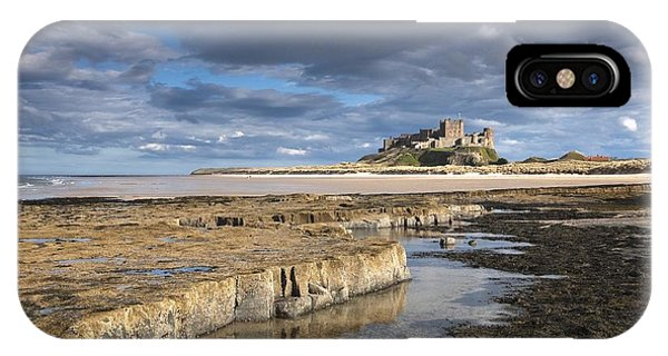 A View Of Bamburgh Castle Bamburgh IPhone Case