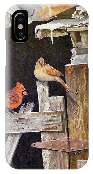 A Visit To Daddy's Barn  Sold IPhone Case