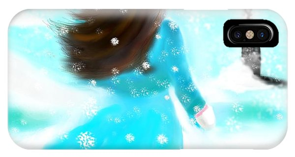 A Winter Day IPhone Case