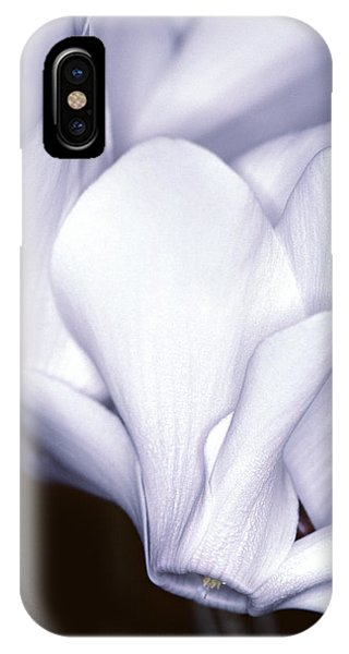 Silky Cyclamen Flowers IPhone Case