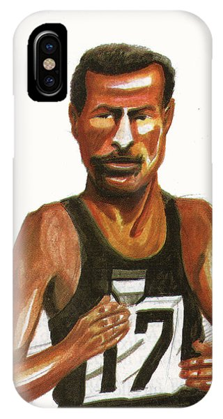 Abebe Bikila IPhone Case