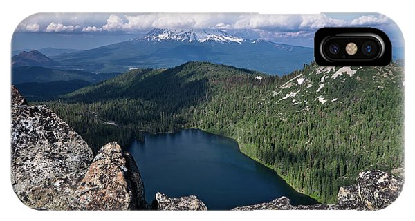 Above Castle Lake IPhone Case