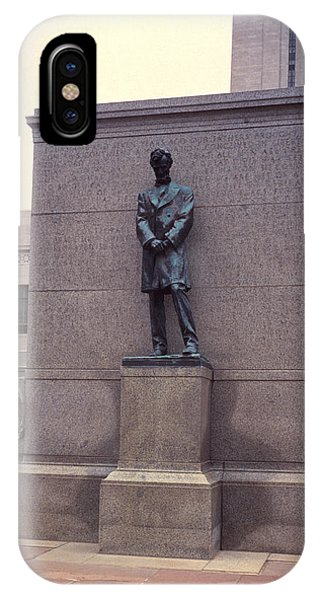 Abraham Lincoln Statue IPhone Case