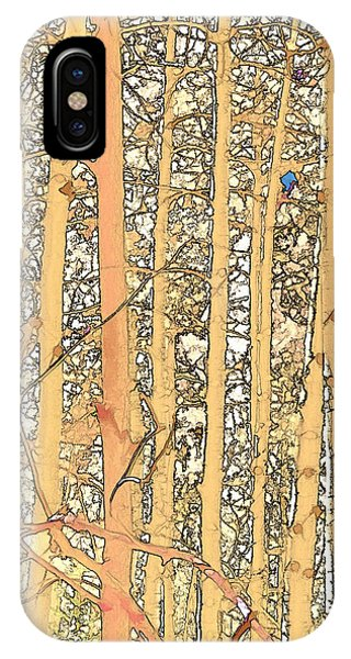 Abstract Aspens IPhone Case