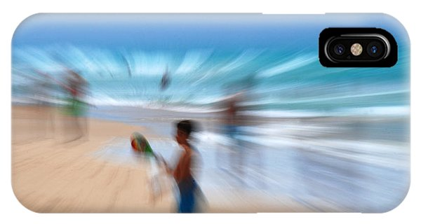 Abstract Beach Phone Case by Perry Van Munster