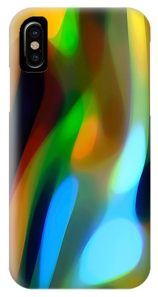 Abstract Garden Light IPhone Case