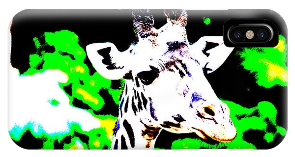 Abstract Giraffe IPhone Case
