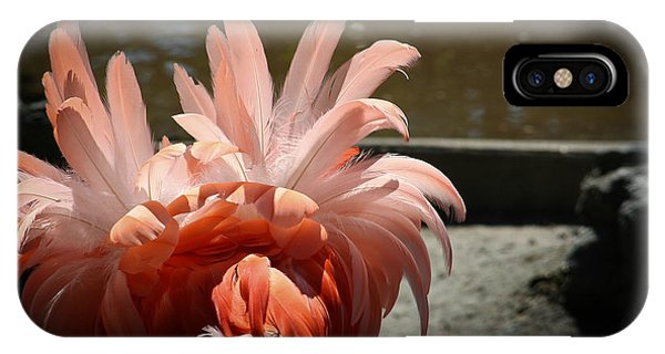 Abstract In Pink IPhone Case