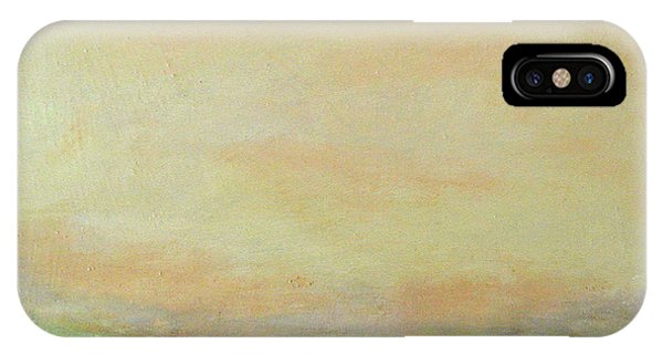 Abstract Landscape - Rose Hills IPhone Case