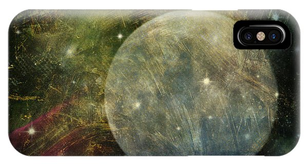 Abstract Moon IPhone Case