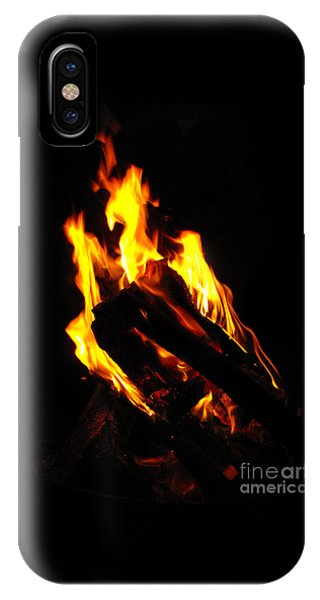 Abstract Phoenix Fire IPhone Case