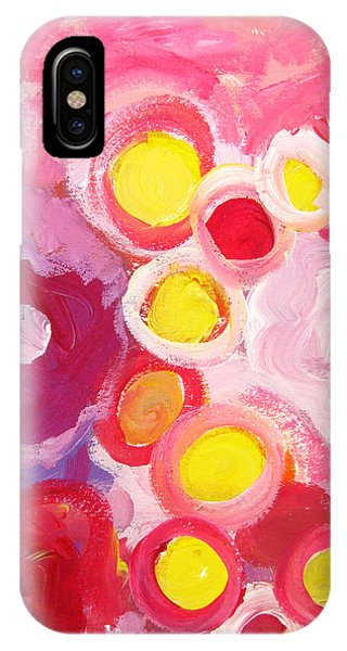 Abstract V IPhone Case
