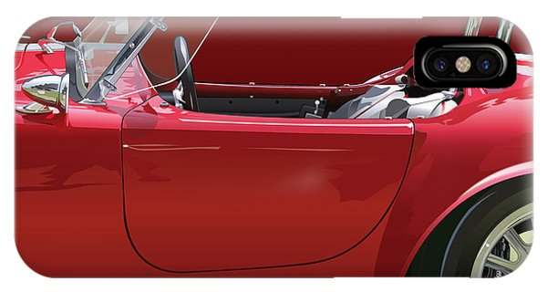 Ac Cobra Detail IPhone Case