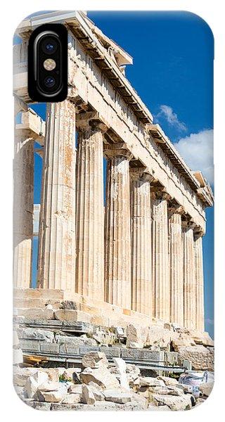 Greece iPhone Case - Acropolis Parthenon 3 by Emmanuel Panagiotakis