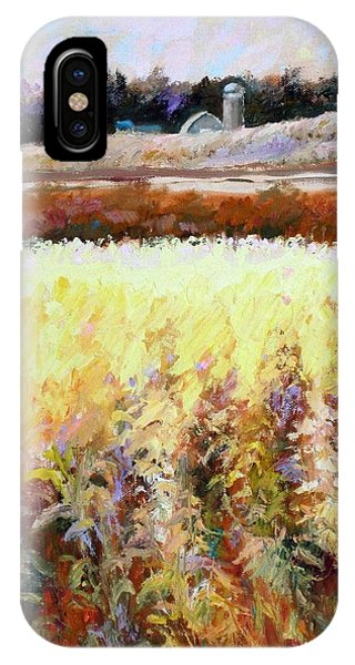 Across The Cornfield IPhone Case