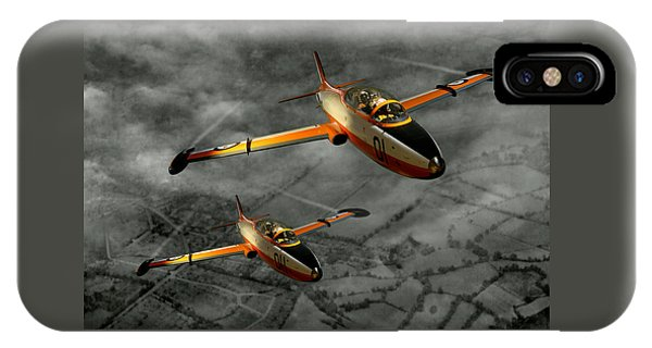 Aermacchi In Flight IPhone Case