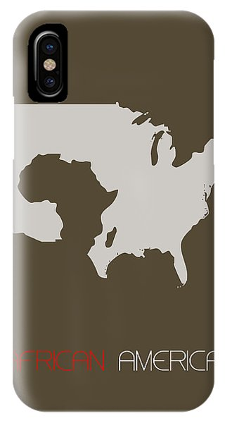 African-american iPhone Case - African America Poster by Naxart Studio