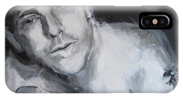 IPhone Case featuring the drawing After The Fight- Into The Night by Eric Dee