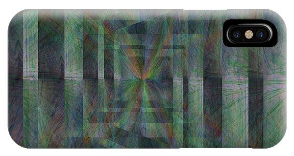 Purple Rain iPhone Case - After The Rain 10 by Tim Allen