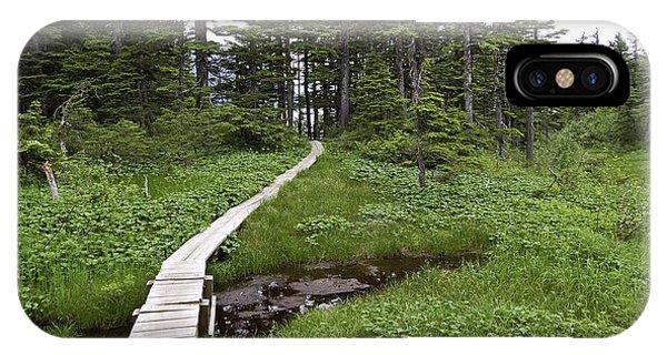Alaska Meadow Trail IPhone Case