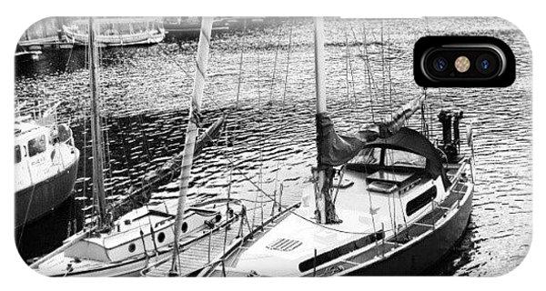Follow iPhone Case - #albertdock #liverpool #harbor #boat by Abdelrahman Alawwad