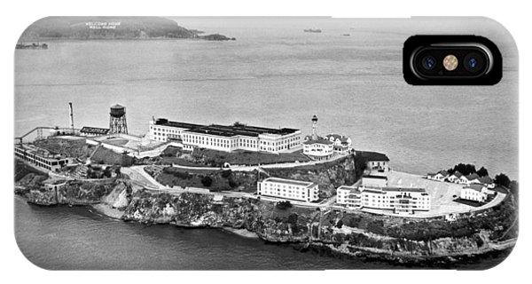 Alcatraz Island And Prison IPhone Case